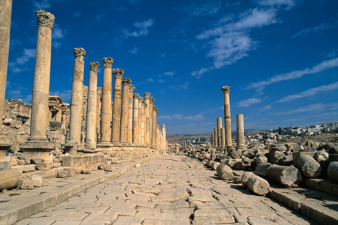 Ruinen des antiken Gerasa, Syrien