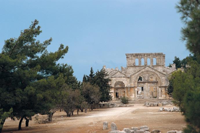Ruine des Simeonsklosters, Syrien