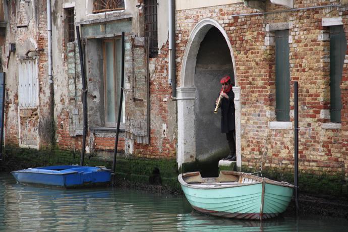 Sonntagmorgen in Venedig